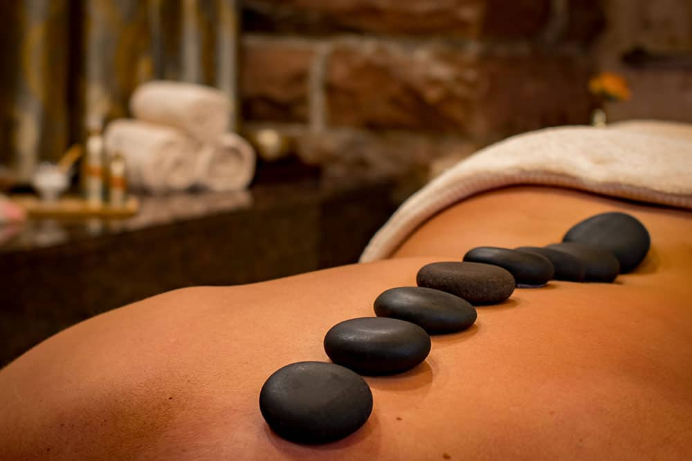 Hot Stone Massage Muscles Joints Aches Chronic Pain Heat Knots Back Neck Shoulder Positivity Relaxation Stiffness Flexibilty