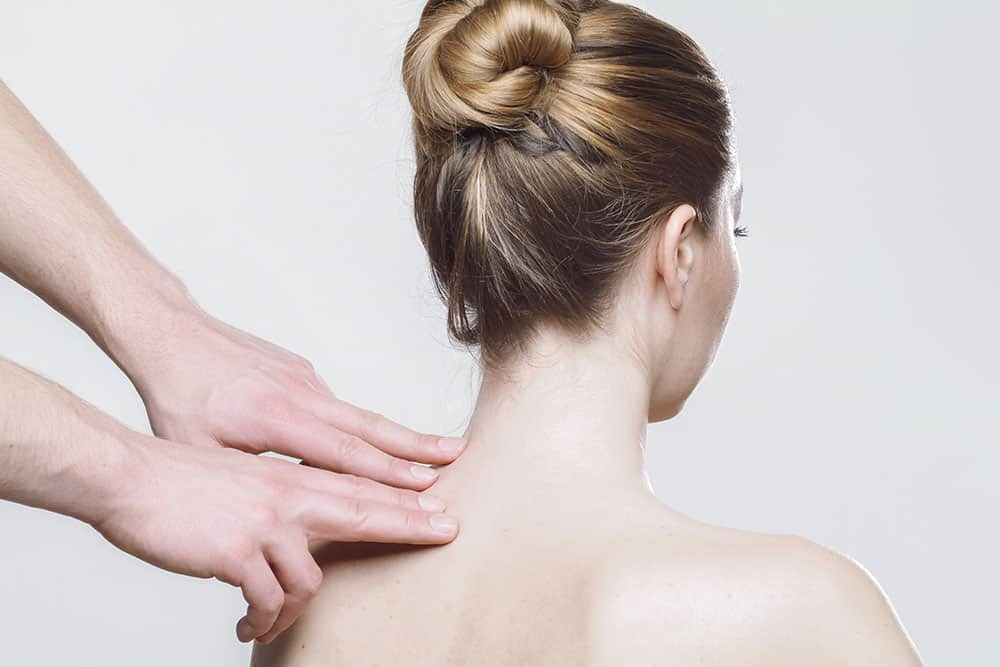 Neck, Back and Shoulder Massage Headaches Eye Strain Tension Release Relaxation Sleep