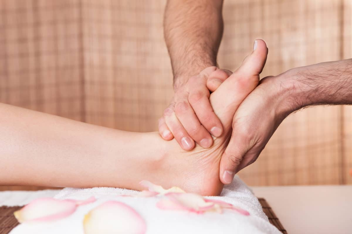 Foot Massage Relax Pamper Reflexology Well Being Treat