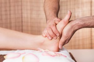 Foot Massage Relax Pamper Reflexology Well Being Treat